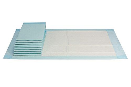 VIDIMA Inkontinenzunterlage 40 x 60 cm | 20 Stück | 6 lagige saugstarke Einmal Krankenunterlage aus Zellstoff | unterverpackte Bettunterlage für Inkontinenz & Blasenschwäche | ideal für Krankenhäuser