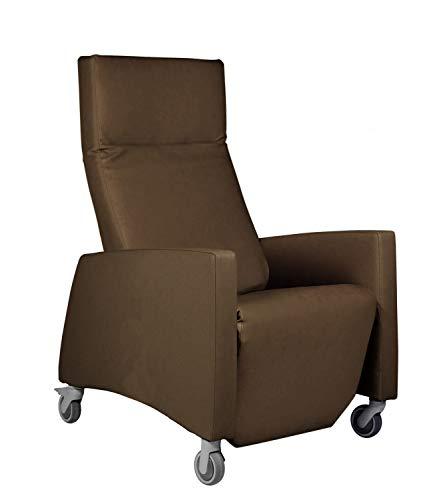 Devita - Pflegesessel LUTRA Relax mit Rollen und Verstellbarer Rückenlehne bis 120 kg