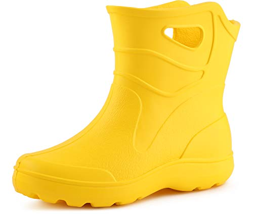 Botas para Mujer para la lluvia de color amarillo