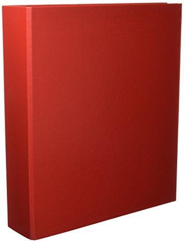 Esselte Raccoglitore a 4 anelli, Formato A4 maxi, Dorso 7 cm, Cartone rivestito in polipropilene, Rosso, Meeting, 395798300