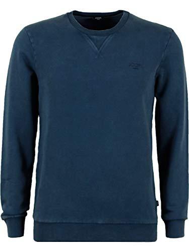 Joop! Herren Rundhals Sweatshirt Langarm Pullover Aari Regular Fit S M L XL XXL Blau 100% Baumwolle, Größe:S, Farbe:Mittlblau (405)