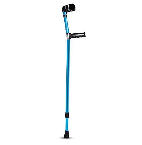 Wandelen stok kruk Elleboog, arm type onderarm, vouwen dubbele krukken, telescopische wandelaar