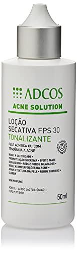 Adcos Acne Solution Loção Secativa FPS30 Tonalizante 50ml