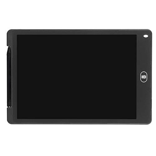 Tablero de dibujo Doodle Tablero Lcd Escritura LCD Tablero de escritura Tablero de visualización de dibujo para niños Juguete de regalo Hogar Oficina Escuela(black)