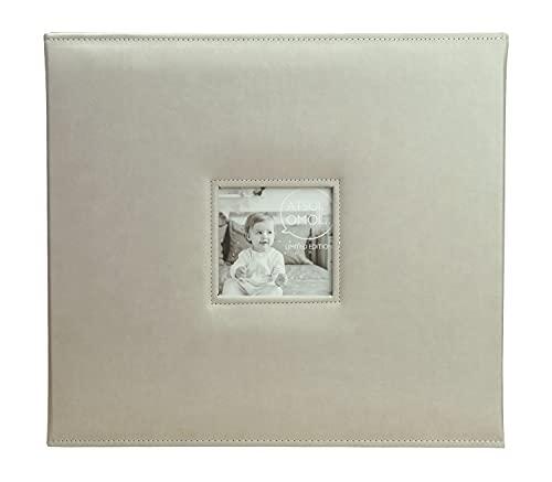 メガアルバム 1500 ATSUI OMOI(アツイオモイ) 1500枚収納 フリーポケット台紙10枚付き ライトグレー