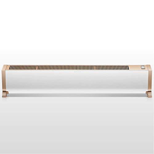 HYY-YY Calefactor de radiador, control remoto, calentador táctil de calefacción para el hogar, ahorro de energía con función de corte térmico de seguridad, calentadores convectores