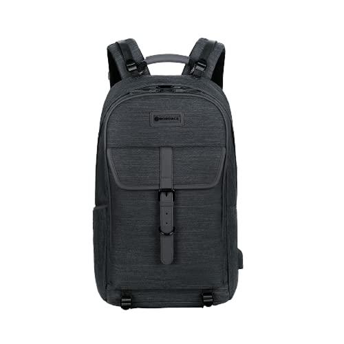 Nordace Comino - Borsone da viaggio 24 l, con scomparto per computer portatile, con porta RFID, porta USB, peso: 1,29 kg, impermeabile, Nero , 24L, Borsa da palestra
