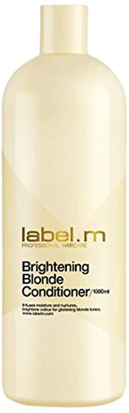 参加者店員画像レーベルエム ブライトニングブロンド コンディショナー (髪に潤いと栄養を与えて明るく輝くブロンドヘアに) 1000ml/33.8oz
