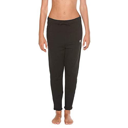Arena W Gym Pant Loose Fit, Pantaloni Sportivi Lunghi Donna, Nero (Black), S