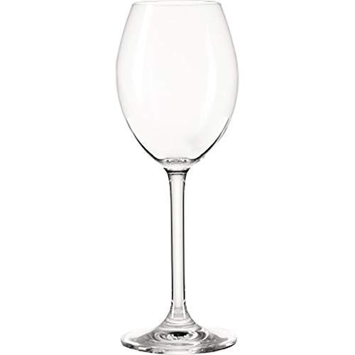 montana pure Weißwein-Gläser, 6er Set, spülmaschinenfeste Weißwein-Kelche, Wein-Glas im klassischen Stil, Glaskelch für Weißwein, 250 ml, 042386