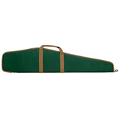 Bulldog Cases Pit Bull Rifle Case, Green with Tan Handles and Trim, 48""