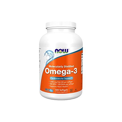 Now Foods Omega-3 500 Perle - 620 Gr