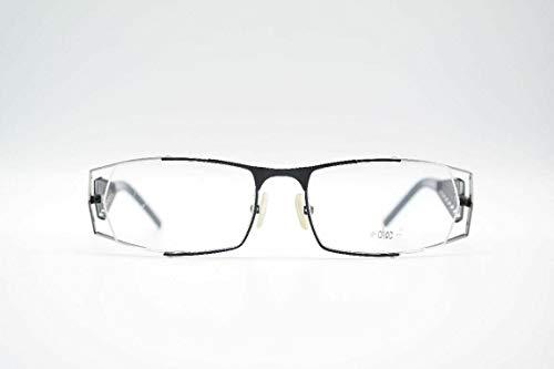 Brillenmann Choc C322-988 52 []17 135 zwart halve rand brilmontuur nieuw