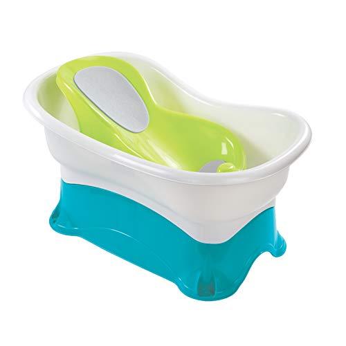 Bañeras para Bebés Summer Infant Comfort Height Bath | 2 Tinas y un Banco