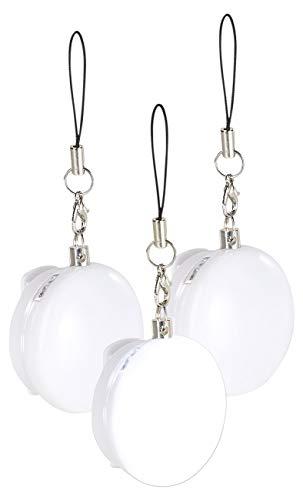 Lunartec Mini-Taschenlicht: 3er-Set automatische LED-Handtaschenlichter, Licht- & Bewegungssensor (Handtaschenlicht mit PIR-Sensor)