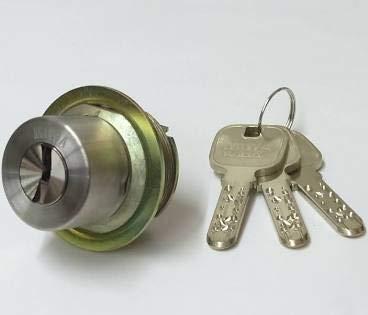 MIWA(美和ロック) JNシリンダー LIXタイプ 鍵 交換 取替え MCY-254 MIWA KABA TE0/LIXステンレスへヤーライン色(ST)33〜42mm