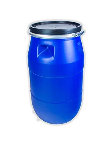 Jardin202 - Bidón de plástico con Boca Ancha de 120 litros
