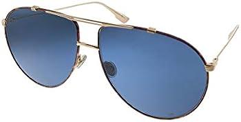 Dior Christian Dior Blue Antiglare Aviator Ladies Sunglasses