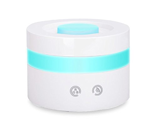 Solidpin Mini USB Ultrasonic Travel Essential Oil Aroma Diffuser, 100ml Cool Mist Humidifiers Ultrasonic Aromatherapy Diffusers for Car Home Office Bedroom Living Room Spa Baby