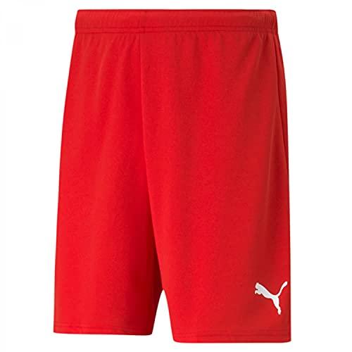 PUMA mens Shorts, Puma Red-Puma White, M