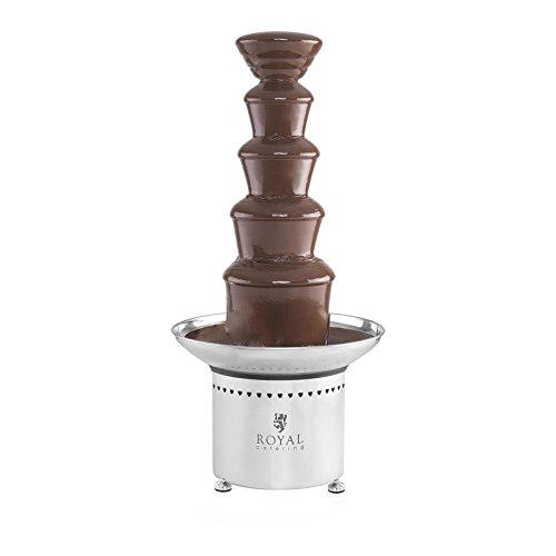 Royal Catering RCCF-65W4 Chocoladefontein - 5 verdiepingen - 6 kg