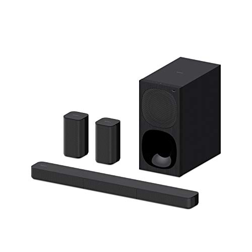 Sony HT-S20R - 5.1ch Soundbar with wired subwoofer and rear speakers