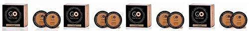 Millefiori Milano Recharge parfum santal Bergamote 4 boîtes de 2 Go pour parfum voiture à dosettes T-Discs