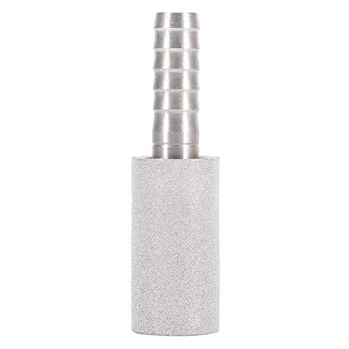 Edelstahl Bier Diffusionsstein, Belüftungsstein Karbonisierungsstein Belüftungsstein Karbonisierungsstein Bier Bar Zubehör (0,5 Mikron/2 Mikron)(2 Mikron)
