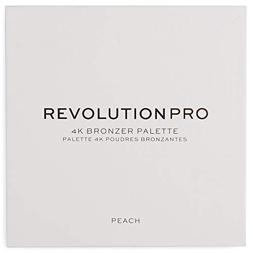 Revolution Pro - Rougepalette - 4K Blush Palette - Peach