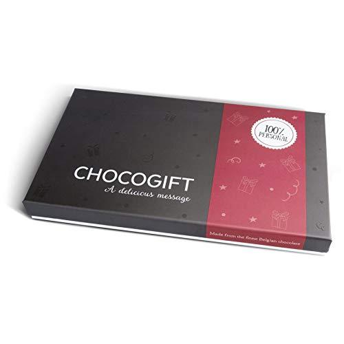 Personalisierte Schokolade mit Foto in Geschenkbox - Personalisierte in Herzform mit deinem Lieblingsfoto