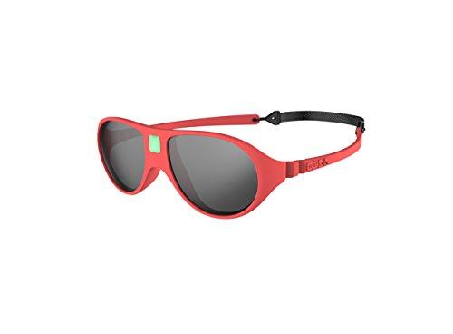 Ki Et La Ki ET LA - Babysonnenbrille im Stil Jokala - 100% unzerbrechlich - Koralle - 2-4 Jahre