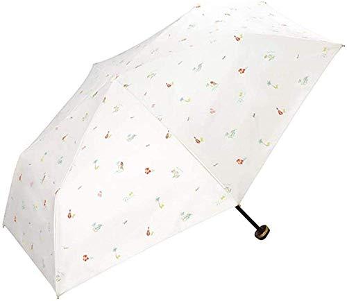 ZMHVOL Paraguas lámpara de sombrilla Sol Sol protección Anti-Ultravioleta Plegable Color plástico...