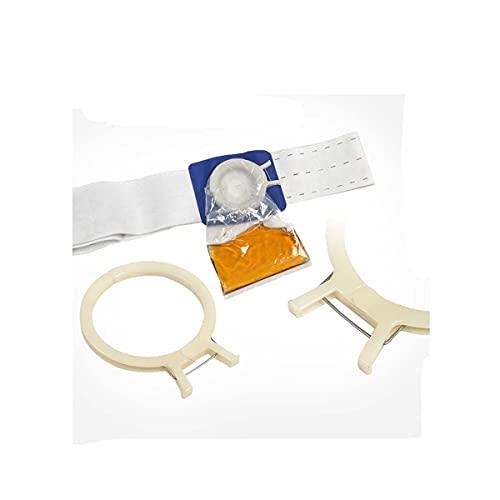 XINTONGSPP Cinturón de estoma, Bolsas de colostomía para cinturón de ostomía, Bolsa de urostomía drenable, Bolsa de ileteostomía, cinturón de ostomía con Bolsa