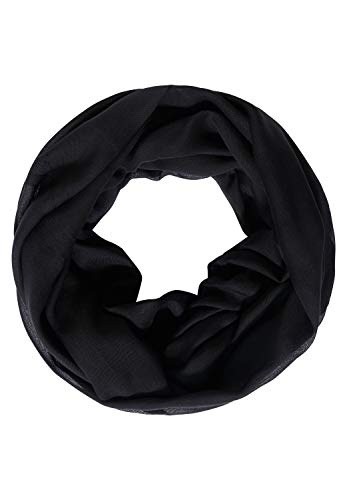 Cecil Damen Basic Loop in Unifarbe Black A