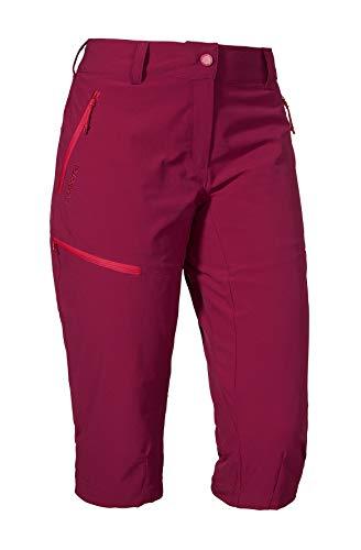 Schöffel Damen Caracas2\' Kurz Hose, beet red, 34