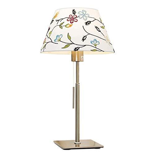 Faus Koco Nórdico Creativo Simple e27 paño Blanco luz Sala de Boda Sala de Estar Dormitorio Noche lámpara de Noche 16 * 49cm