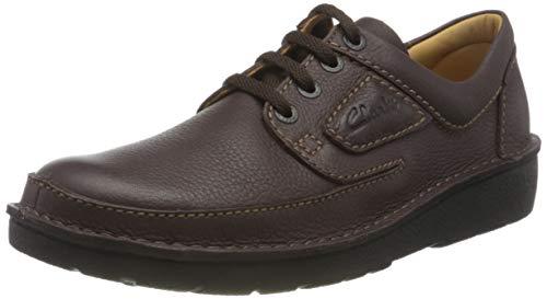 Clarks Herren NATURE II Oxford-Schuh Derby, Braun, 46 EU
