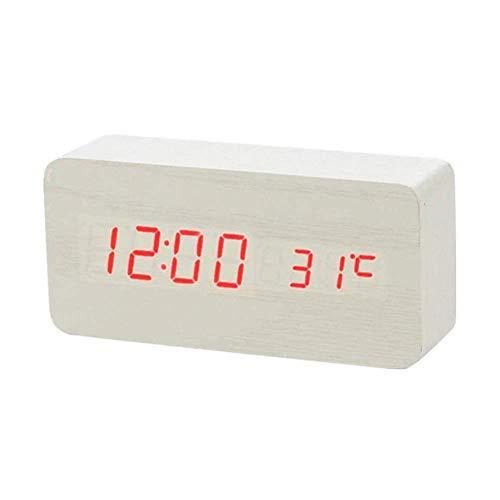 DealMux orologio da parete digitale led radiosveglia con illuminazione orologio da tavolo orologio per bambini sveglia per bambini sveglia intelligente sveglia sveglia sveglia sveglia da comodino sve