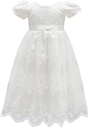 Glamulice Baby Girl Flower Christening Baptism Dress Formal Party Gown Special Occasion Dresses product image