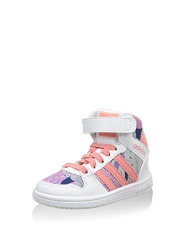 adidas Sneaker Alta PRO Play 2 CF I Bianco/Salmone EU 27
