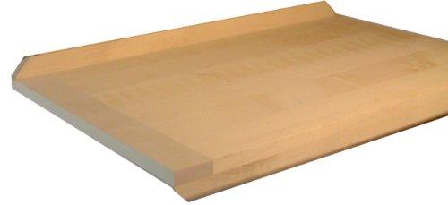 Leben mit Holz Nudelbrett Buche/Linde massiv, 70x50 cm