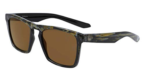 Dragon Dr Drac Ll Mi Ion Gafas de sol, Rob Machado Resin, 53MM, 20MM, 145MM para Hombre