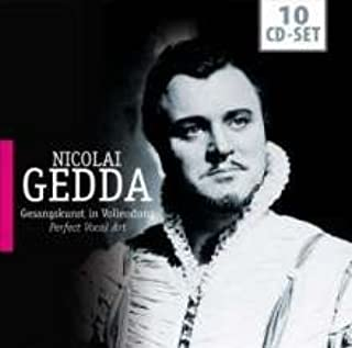 Nicolai Gedda: Gesangkunst in Vollendung (Perfect Vocal Art) [Live and Studio Performances From 1952-1960)