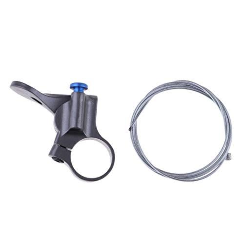 Baoblaze Aluminium Fahrrad MTB Gabel Fernbedienung Lockout Hebel MTB Rennrad Bicycle Fork Remote Lever