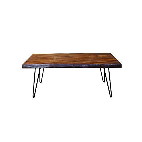 Gresham Live Edge Solid Acacia Wood Coffee Table