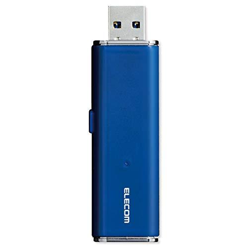 エレコム 外付け ポータブルSSD 1TB USB3.2(Gen1) PS4(メーカー動作確認済) スライド式 直挿し ブルー ESD-EMN1000GBU