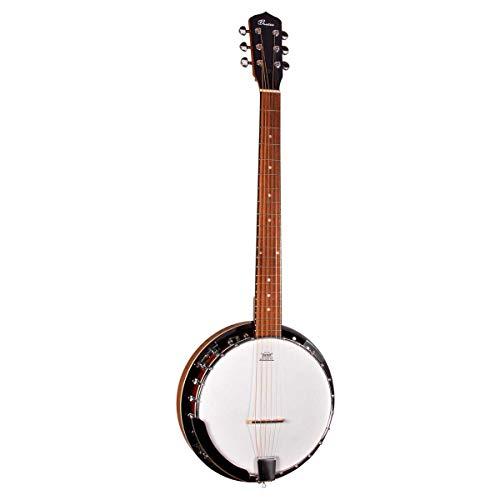 Beaton Baltimore 06 banjo - 6-Saiten Banjo in geschlossenem Design, das mit montiertem Remo-Banjo-Leder geliefert wird, sehr günstiger preis