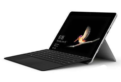 2019 Microsoft Surface Go Bundle 10' FHD IPS Touchscreen Tablet PC Laptop Computer, Intel Pentium Gold 4415Y 1.6GHz, 4GB RAM, 128GB SSD, 802.11ac WiFi, Bluetooth 4.1, USB-C, with Keyboard, Windows 10