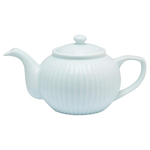 GreenGate Teekanne - Teapot - Alice Pale Blue