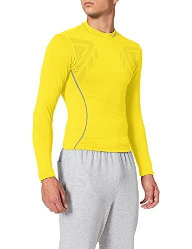 Luanvi Sahara Camiseta térmica, Hombre, Amarillo, M